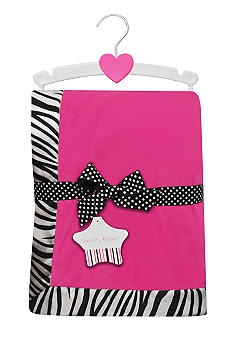 Nursery Rhyme Zebra Blanket