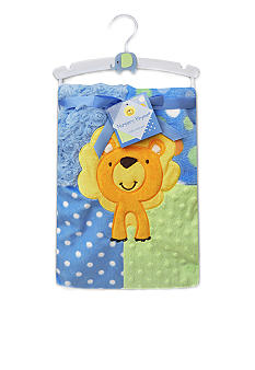 Nursery Rhyme Jungle Baby Blanket