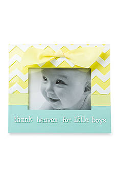 Nursery Rhyme 'Thank Heaven For Little Boys' Frame