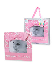 Nursery Rhyme Thank Heaven For Little Girls Picture Frame
