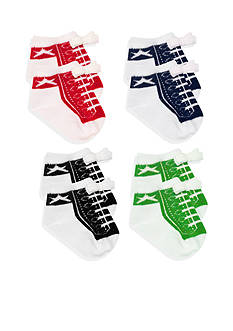 Nursery Rhyme 4-Pack High Top Sneaker Sock Set