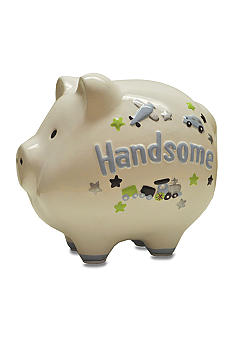 Nursery Rhyme Ceramic Piggy Bank