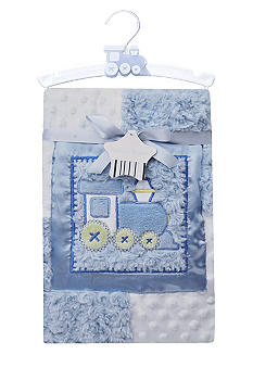 Nursery Rhyme Train Blanket