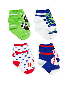 Nursery Rhyme 4-Pack All Star Socks Set