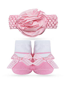 Nursery Rhyme 2-Piece Headband and Sock Set