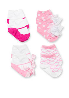 Nursery Rhyme 4-Pack Coordinating Sock Set