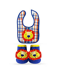 Nursery Rhyme 2-Piece Bib and Sock Gift Set