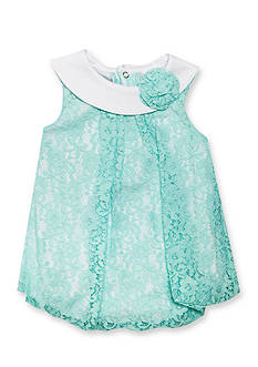 Nursery Rhyme Lace Bubble Romper