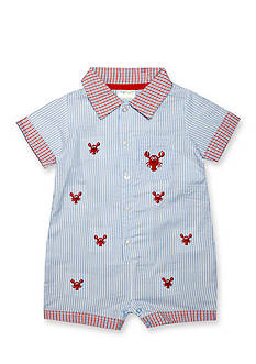 Nursery Rhyme Seersucker Lobster Romper