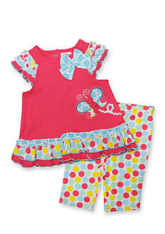 Nursery Rhyme 2-Piece Party Dot Tunic and Leggings Set