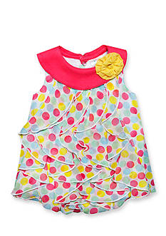 Nursery Rhyme Party Dot Bubble Romper