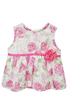 Nursery Rhyme Floral Print Bubble Dress