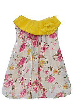 Nursery Rhyme Floral Bubble Dress