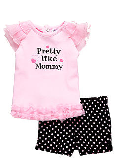 Nursery Rhyme Pretty Like Mommy Short Set