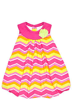 Nursery Rhyme ZigZag Bubble Romper