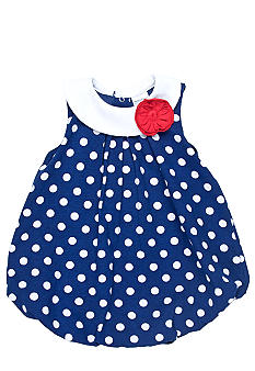 Nursery Rhyme Polka Dot Bubble Romper