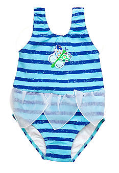 Sweet Potatoes Butterfly Wing 1-piece Swimsuit Toddler Girls
