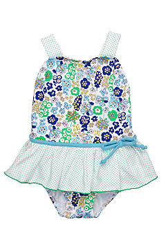 Sweet Potatoes Petal Ruffle 1-piece Swimsuit Toddler Girls
