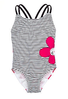 Sweet Potatoes Poppies 1-Piece Swimsuit Toddler Girls