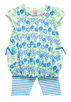 Sweet Potatoes Pansy Legging Set Toddler Girls