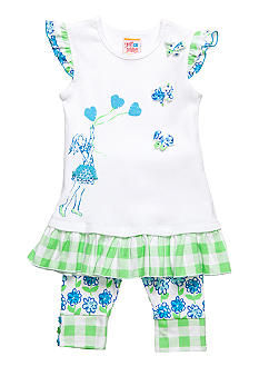 Sweet Potatoes May Flowers Swim Suit Toddler Girls