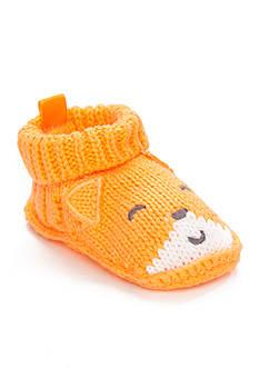 Carter's® Boys Crocheted Fox Bootie