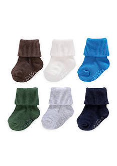 Carter's 6-Pack Triple Roll Socks