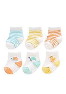 Carter's 6-Pack Color Animal Socks