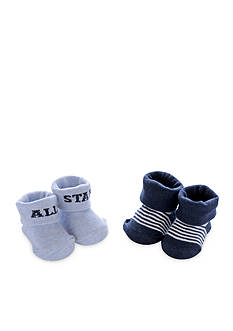 Carter's 2-Pack All Star Keepsake Booties