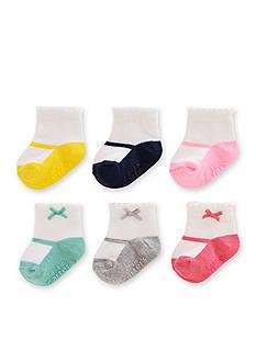 Carter's Baby Socks Girls 0-3 Months - 6 Pack