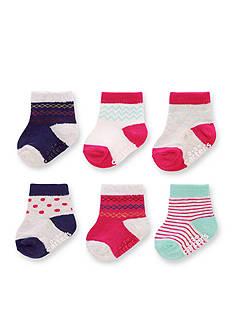 Carter's Baby Socks - 6 Pack Girls 0-3m
