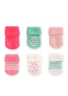 Carter's Terry Socks Girls 0-3m