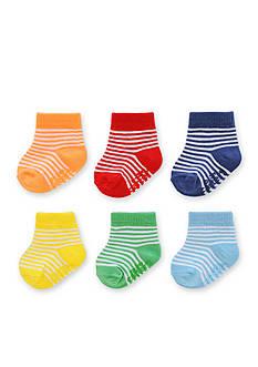 Carter's Baby Rainbow Stripe Socks 0-3m - 6 Pack