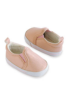 Carter's Baby Girl Pink Metallic Slip-On Sneaker Crib Shoes