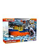 Mattel® MATCHBOX MEGA RIG Shark Ship!™ Adventure Set - Online Only