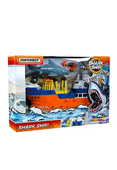 Mattel MATCHBOX MEGA RIG Shark Ship! Adventure Set - Online Only