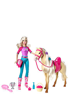 Mattel BARBIE & Tawny Doll and Horse