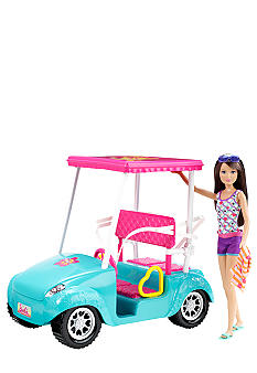 Mattel BARBIE Sisters Golf Cart