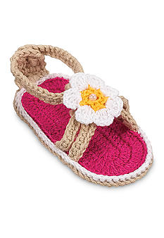Nursery Rhyme® Strappy Flower Sandal