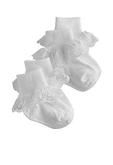 Nursery Rhyme 2 pack of Eyelet Socks