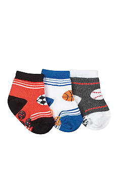 Nursery Rhyme 3 Pk Sporty Booties