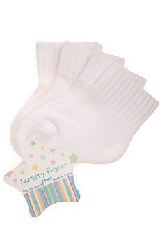 Nursery Rhyme 2-Pack Seamless Quarter Cushion Socks
