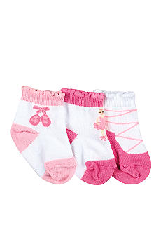 Nursery Rhyme® 3Pk Ballerina Sock Set