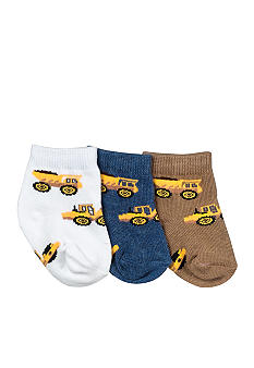 Nursery Rhyme 3Pk Construction Sock Set