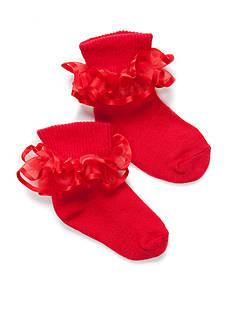 Nursery Rhyme Frilly Lace Socks