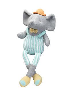Elegant Baby Elephant Knittie Bittie Toy