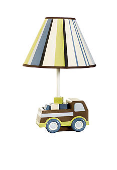Carter's Mosaic Transport Lamp Base and Shade