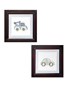 Carter's Mosaic Transport Wall Art Set