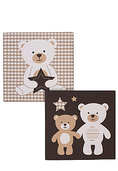 Carter's Baby Bear 2-Piece Wall Canvas