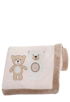 Carter's Baby Bear Embroidered Blanket